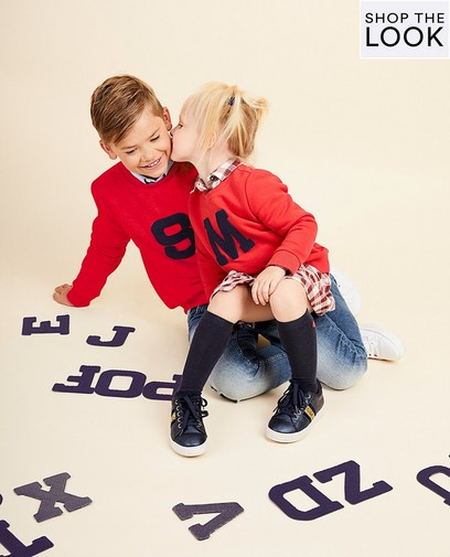 Maak je eigen lettersweater voor  € 14,95